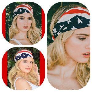 Accessories - American Flag Stretch Headband